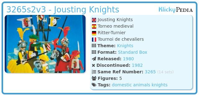 Playmobil 3265s2v3 - Knights game