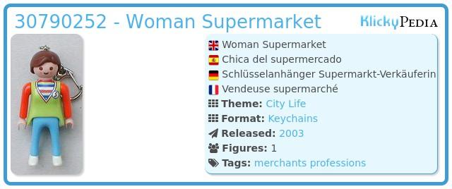 Playmobil 30790252 - Girl Supermarket