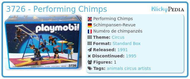 Playmobil 3726 - Performing Chimps