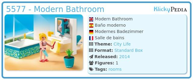Playmobil Set: 5577 - Modernes Badezimmer - Klickypedia