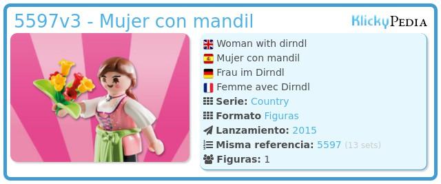 Playmobil 5597v3 - Mujer con mandil