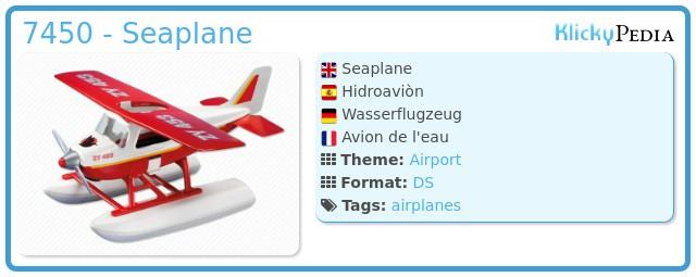Playmobil 7450 - Seaplane