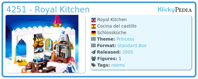Playmobil 4251 - Royal Kitchen