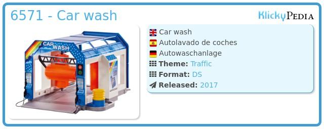 Playmobil 6571 - Car wash