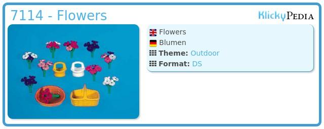 Playmobil 7114 - Flowers
