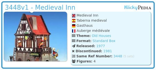 Playmobil 3448v1 - Medieval Inn