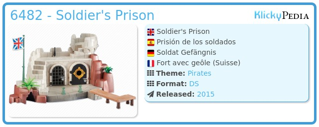 Playmobil 6482 - Soldier's Prison