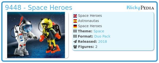 Playmobil 9448 - Space Heroes