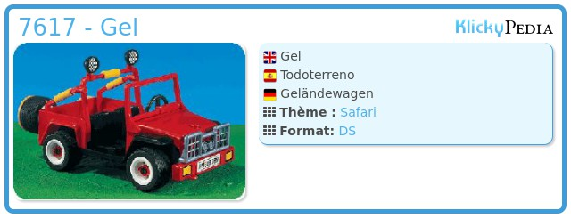 Playmobil 7617 - Gel