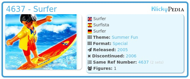 Playmobil 4637 - Surfer