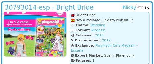 Playmobil 30793014-esp - Bright Bride