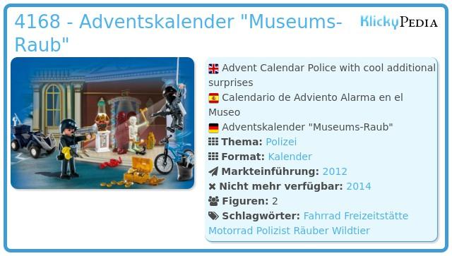Playmobil 4168 - Adventskalender