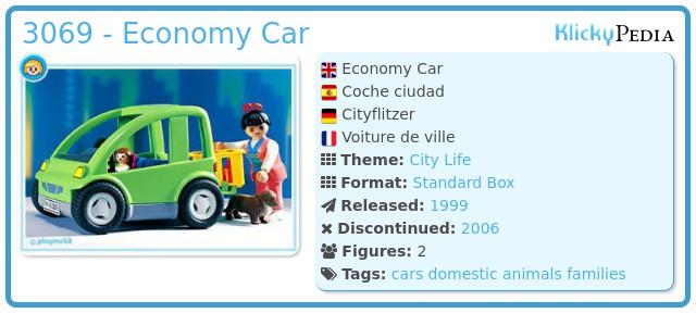 Playmobil 3069 - Economy Car