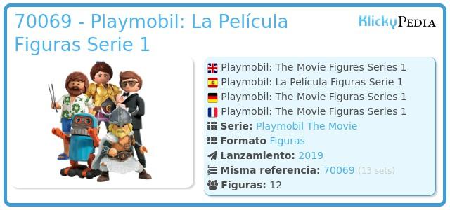 Playmobil 70069 - Playmobil: La Película Figuras Serie 1