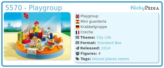 Playmobil 5570 - Playgroup