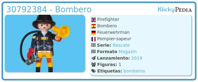 Playmobil 30792384 - Bombero