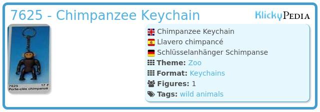 Playmobil 7625 - Chimpanzee Keychain