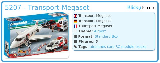 Playmobil 5207 - Transport-Megaset