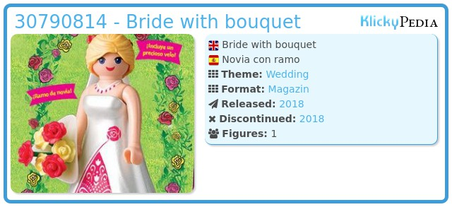 Playmobil 30790814 - Bride with bouquet