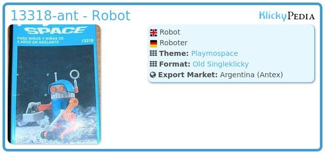 Playmobil 13318-ant - Robot