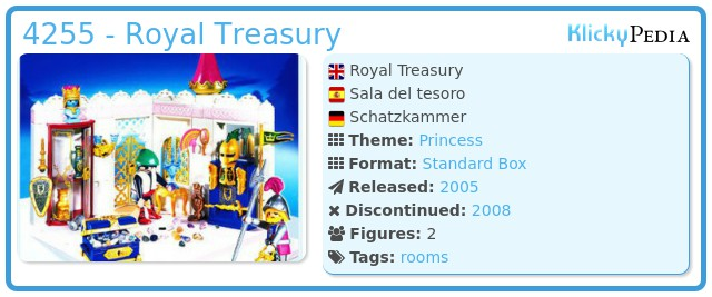 Playmobil 4255 - Royal Treasury