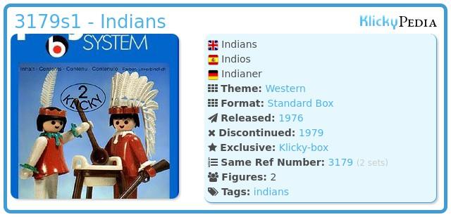 Playmobil 3179s1 - Indians