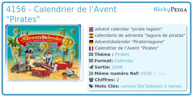 Playmobil 4156 - Calendrier de l'Avent