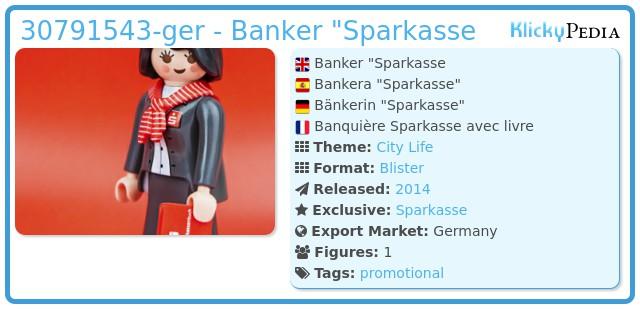 Playmobil 30791543-ger - Banker
