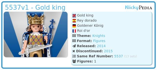 Playmobil 5537v1 - Gold king