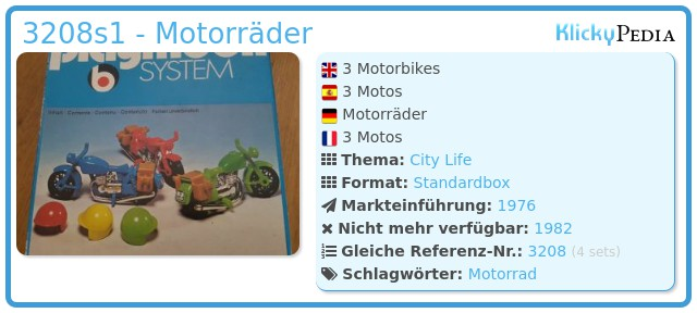 Playmobil 3208s1 - Motorräder
