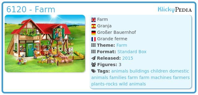 Playmobil 6120 - Farm