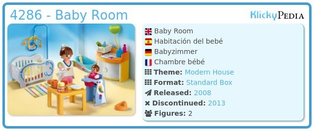 Playmobil 4286 - Baby Room