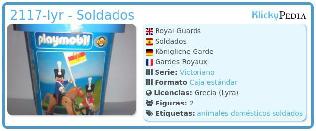 Playmobil 2117-lyr - Soldados