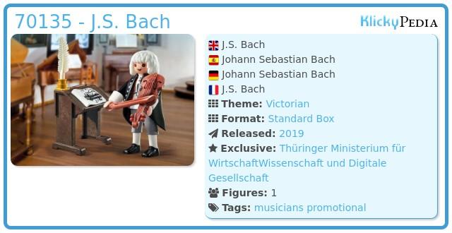 Playmobil 70135-ger - J.S. Bach
