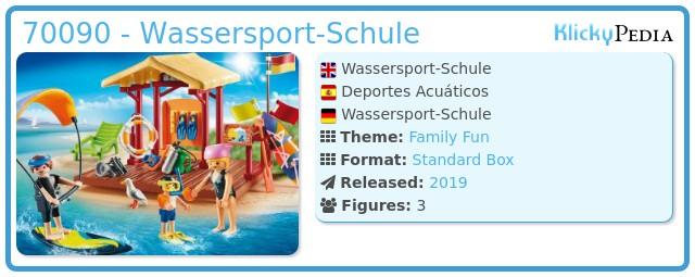 Playmobil 70090 - Wassersport-Schule