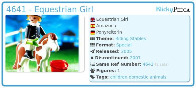Playmobil 4641 - Equestrian Woman