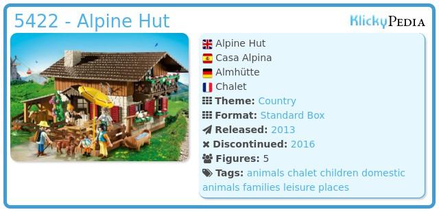 Playmobil 5422 - Alpine Hut