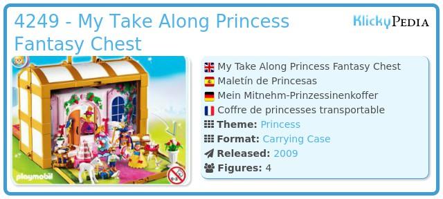 Playmobil 4249 - My Take Along Princess Fantasy Chest