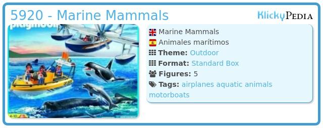 Playmobil 5920 - Marine Mammals