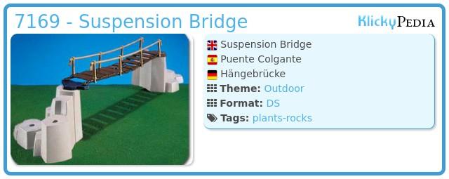 Playmobil 7169 - Suspension Bridge