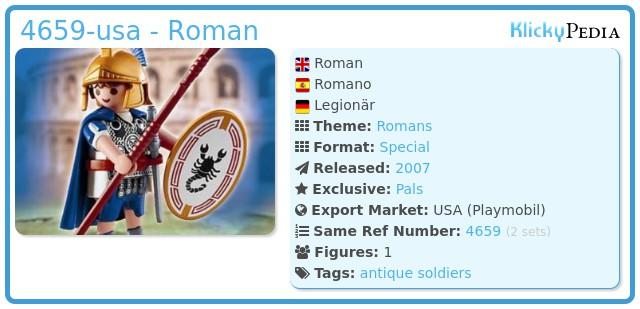 Playmobil 4659-usa - Roman