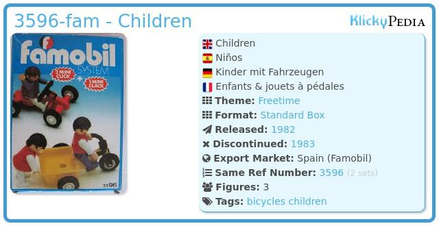Playmobil 3596-fam - Children