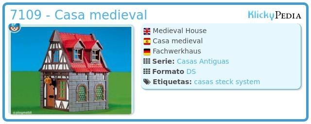 Playmobil 7109 - Casa medieval