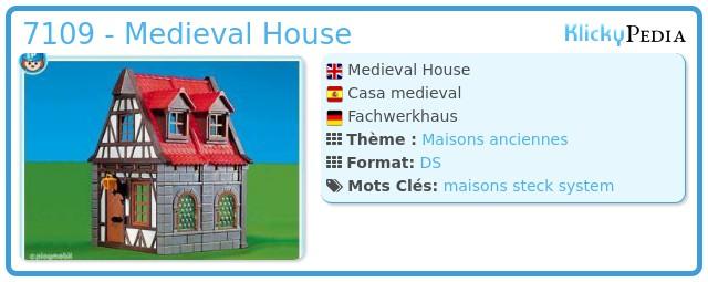Playmobil 7109 - Medieval House