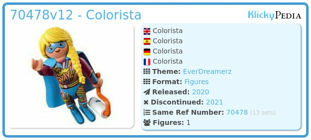 Playmobil 70478-12 - Colorista