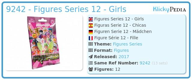 Playmobil 9242 - Figures Series 12 - Girls