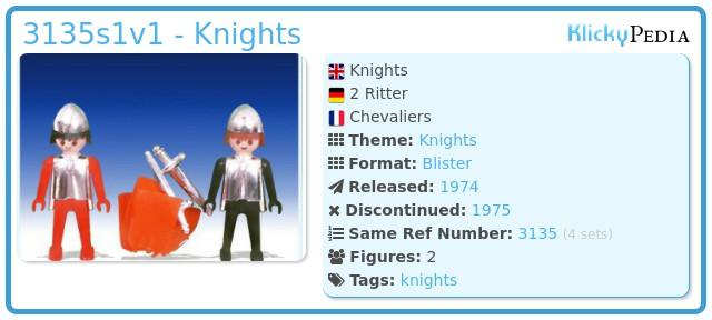 Playmobil 3135s1v1 - Knights