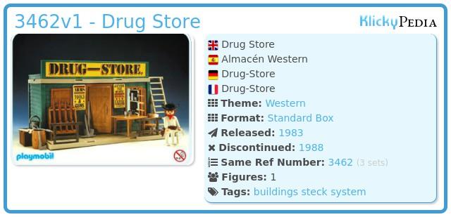 Playmobil 3462v1 - Drug Store