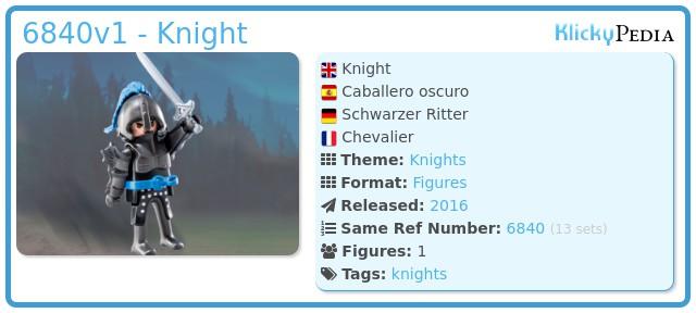 Playmobil 6840v1 - Knight