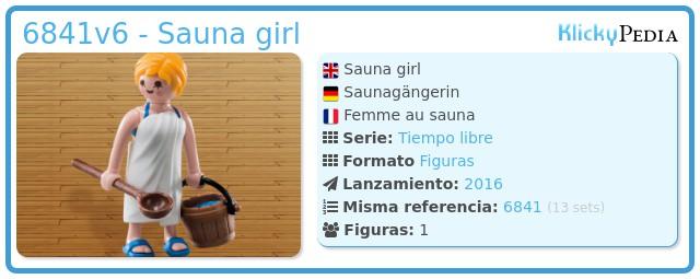 Playmobil 6841v6 - Sauna girl